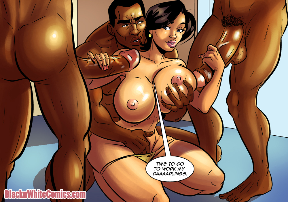 comics Black sex