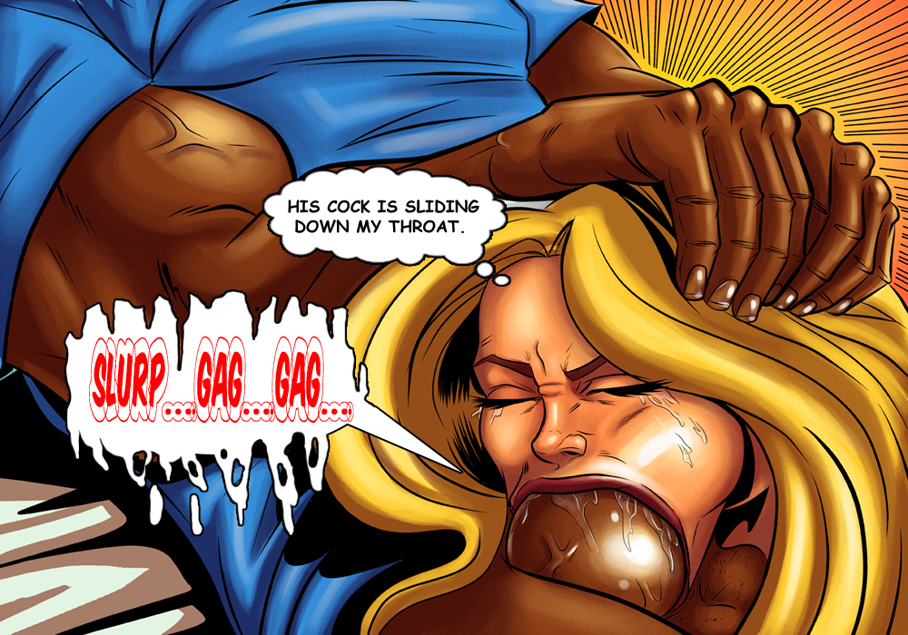 black cartoon sex