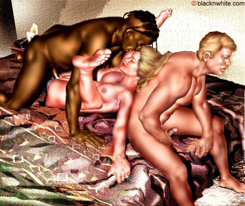 Black gay group orgy