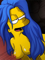 Lisa simpson gets gang banged by black cocks!